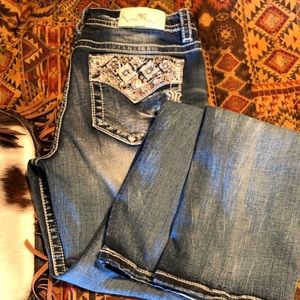 Miss me 32x34 boot cut jeans